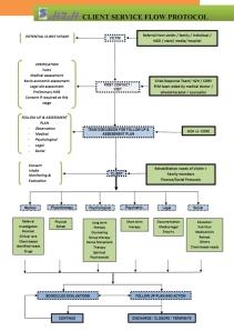 H2H Client Service Flow Chart