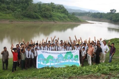 World Environment Day at Khangbor, Tipaimukh Sub-Division, Churachandpur district, Manipur